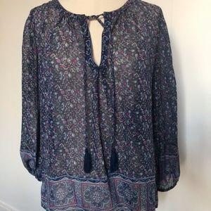 Joie Women's Auberon Silk Blouse